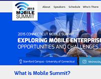 Mobile Summit Conference Web Design