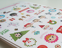 Christmas at the North Pole (Stickers)