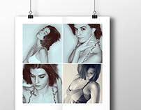Allison - portrait posters