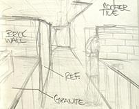 Dichotomy Field sketching