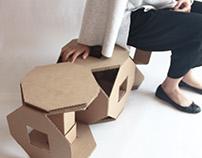 Modular Cardboard Chair