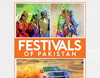 Festivals of Pakistan Calendar Design