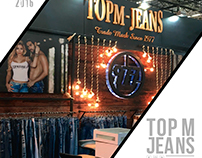 Stand TOP M JEANS Colombia moda 2016
