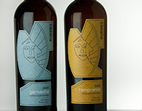 Casana - wine labels