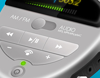 Music Player with AM/FM Radio