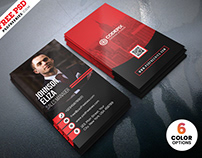 Modern Corporate Business Cards Design PSD