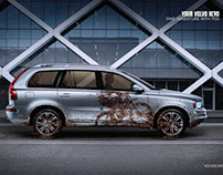 Volvo - XC90 Print Campaign