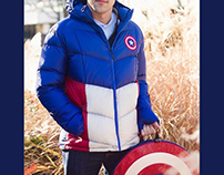 Marvel Outerwear Collection for Ukonic