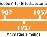 How to animate timeline in Adobe After Effects