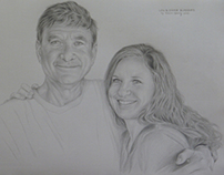 A New Portrait of Father and Daughter by Kevin Geary