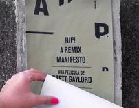 RIP! A Remix Manifesto Poster