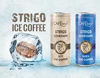 Ice coffee package design Soğuk Kahve ambalaj tasarımı