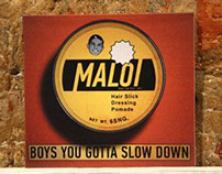 "Maloi EP ""Boys you gotta slow down"" 2012"