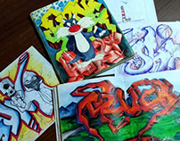 My work on graffiti for 2002-2003 year