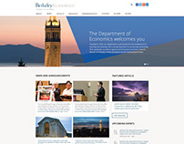 UC Berkeley Department of Economics - Drupal, EDU