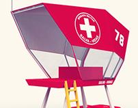GR1 – Guarita portátil para observação e salvamento