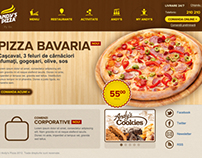 Andy's Pizza - Website UI Design