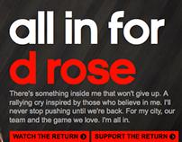 D Rose Microsite - The Return