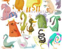 Cartoony Characters