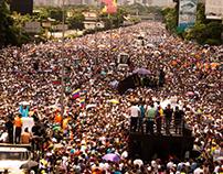 """Así fue la marcha """"somos millones"""" sábado 20 de mayo"""