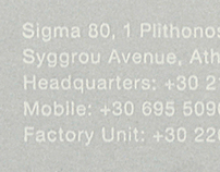 Σ80 • Identity