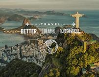Home Page Banner - Traveler WordPress Theme