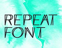 Repeat Font
