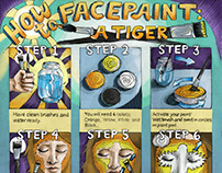 How to Facepaint: A Tiger!