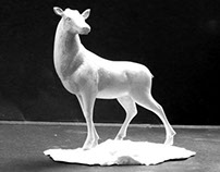 Shiljur Deer Figure