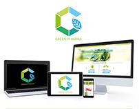 GREEN PHARMA Brand & Website Design