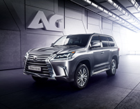 Lexus LX570 [Armour Group Project]