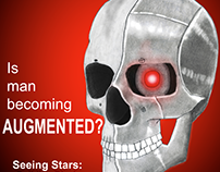 Augmented Skull: Fake Scientific American Cover
