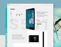 Onix |Microsite