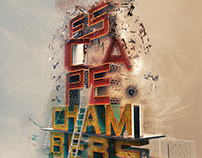 3D type poster - Escape Chambers