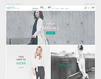 Fashion Clothes Store Magento Theme