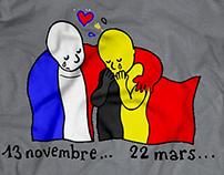 Tribute to Belgium & France