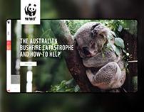 WWF.ca website redesign