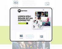 Stock photography Website Concept