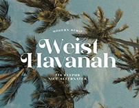 Weist Havanah - Modern Serif