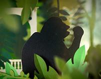 Sur la piste des grands singes - Muséum exhibition