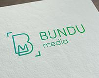 Bundu Media Logo Design