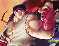 Street Fighter V Fan Art