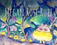 The Sketchbook of Megan Rose Ruiz (book)