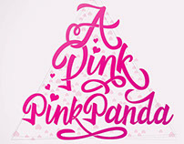 APINK - Pink Panda / Lettering