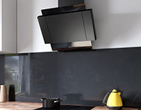 Kitchen Visualization - Globalo Kitchen Hood