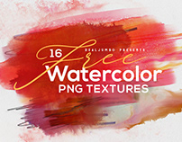 16 Free Watercolor Shapes from Dealjumbo