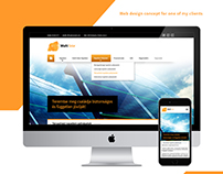 Multi Solar web design concept