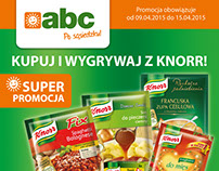 ABC Chain of stores - promo materials