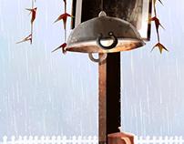 The first rain !