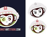 Logo Spacemonkeyartstudio.com